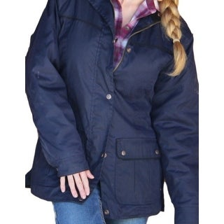 Outback Trading Jacket Womens Jill-A-Roo Snap Front Waterproof 2184