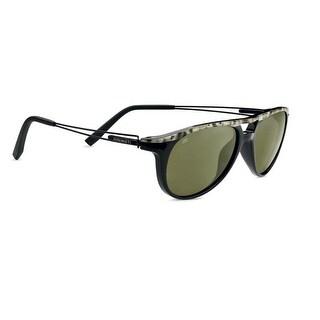 Serengeti Eyewear Sunglasses Udine 7760 Shiny Marble Black Polarized 555nm Lens