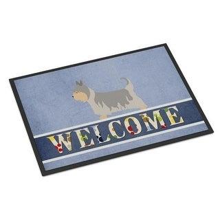 Carolines Treasures BB8307MAT Australian Silky Terrier Welcome Indoor or Outdoor Mat - 18 x 27 in.