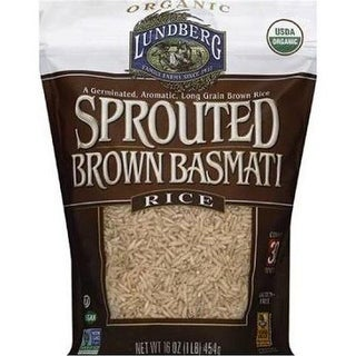 Lundberg Family Farms - Sprouted Brown Basmati Rice ( 6 - 16 oz bags)