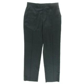 MICHAEL Michael Kors Mens Flat Front Solid Dress Pants