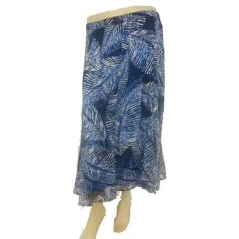 CJ Banks Floral Print Skirts Assorted Pencil Skirt