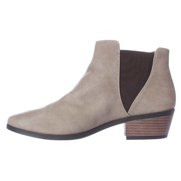 Call It Spring Womens MOLLIAN Round Toe Ankle Fashion Boots, TAUPE, Size 6.5
