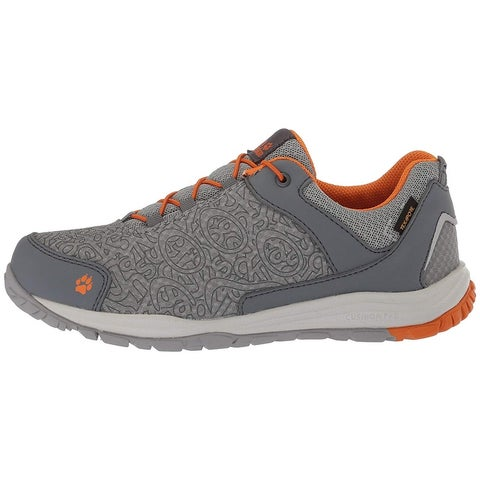 Kids Jack Wolfskin Boys portland texapore low Low Top Lace Up Walking Shoes - 12