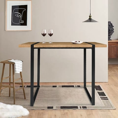 """Modern Counter Height Table High Top Dining Table - 47.2""""x23.6""""x35.4"""""""