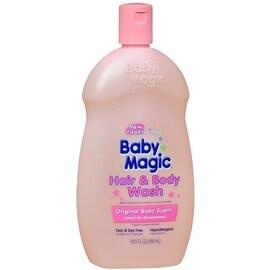 Baby Magic Hair & Body Wash Original Baby Scent 16.50 oz