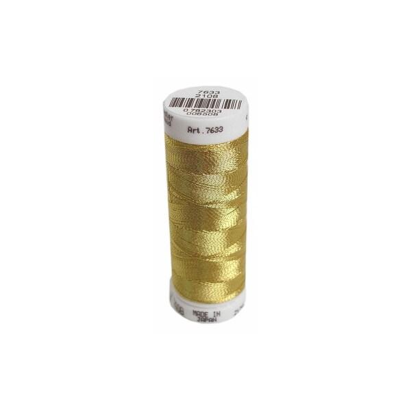 Metrosene PolySheen Embr Thread #40 200M Met Gold