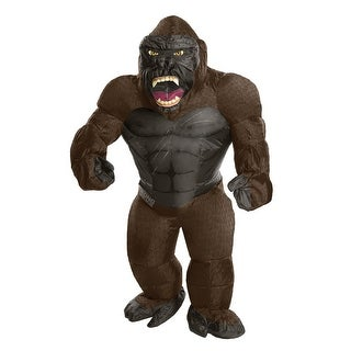 Adult Inflatable King Kong Gorilla Halloween Costume - standard - one size