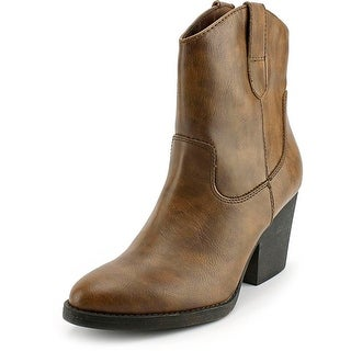Madden Girl Ramz Women Pointed Toe Synthetic Western Boot