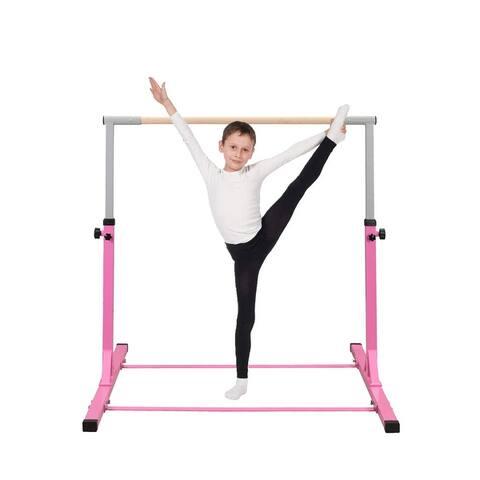 Zenova Foldable Gymnastics Training Horizontal Bar