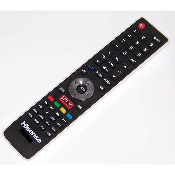 OEM Hisense Remote Control Originally Shipped With 32K366W, 40K366W, 50K610GW, 55K610GW