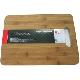 "Chef Craft 21590 Bamboo Cutting Board, 15"" X 11"""