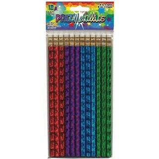 Assorted - Designway Prizmetallics Pencils 12/Pkg