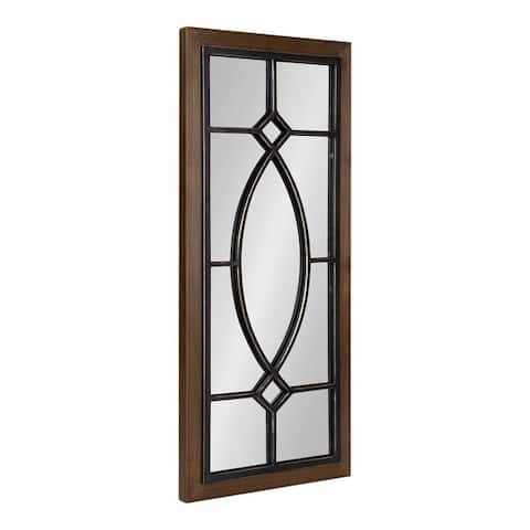 Kate and Laurel Bakersfield Wood Framed Mirror