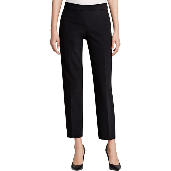 DKNY Womens Dress Pants Solid Flat Front
