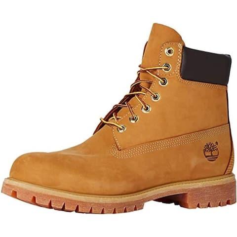 Timberland Men's 10061 6-Inch Wide Premium Boots,Wheat Nubuck,Size 7