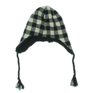 Muk Luks Womens Cotton Plaid Trapper Hat - o/s