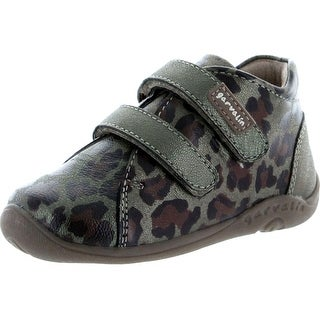 Garvalin Girls Leopard Little Walker Fashion Booties