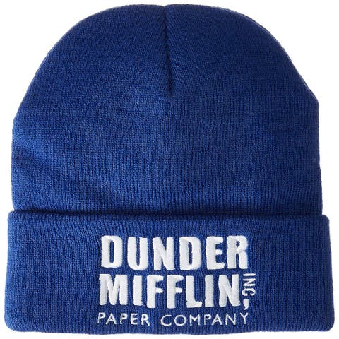 The Office Dunder Mifflin Paper Company Cuffed Knit Hat