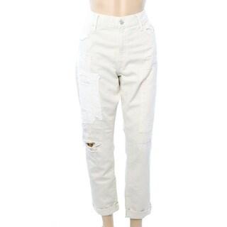 Polo Ralph Lauren NEW Ivory Women's Size 32X29 Slim Boyfriend Jeans
