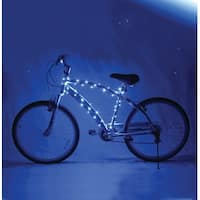 Cosmic Brightz Lightweight LED Bicycle Safety Light Accessory Blue