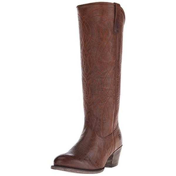 Shop Ariat Womens Singsong Leather Knee-High Cowboy 3b38bb9cb27