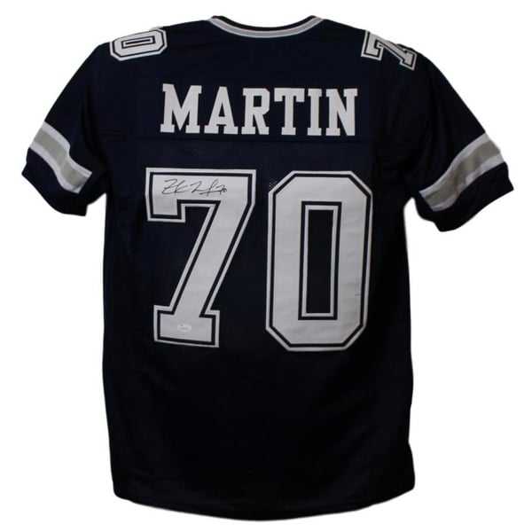 d8ff97722e2 Shop Zach Martin Autographed Dallas Cowboys Blue XL Jersey JSA - Free  Shipping Today - Overstock - 22390155