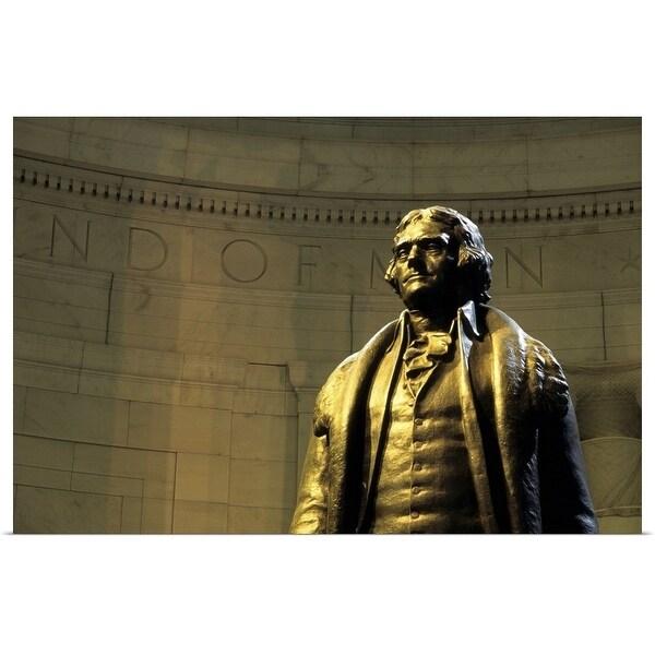 """Thomas Jefferson Memorial, Washington DC, USA"" Poster Print"