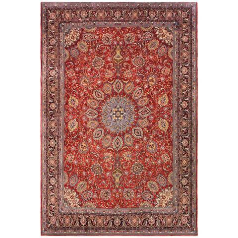 Vintage Antique Persian Corcoran Wool Rug - 9'9'' x 13'0''