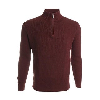 Tommy Bahama Coastal Fairway Half Zip Sweater XX-Large Chili Red Mockneck