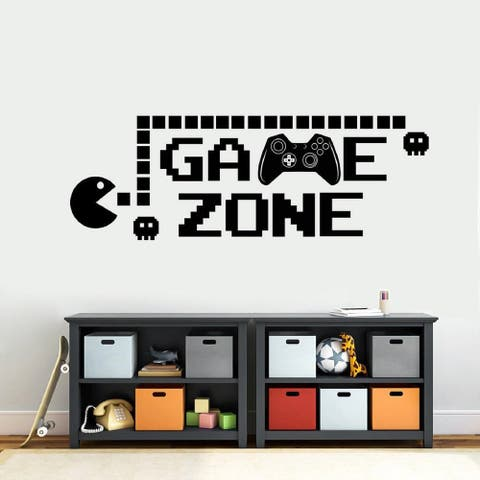 Game Zone Wall Decal