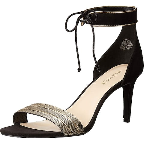 cde16cc04084 Nine West Womens Idilson Open Toe Ankle Strap Classic Pumps