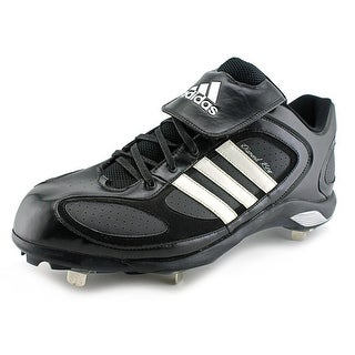 Adidas Diamond King 9 Metal Lo Men Round Toe Synthetic Black Baseball Cleats