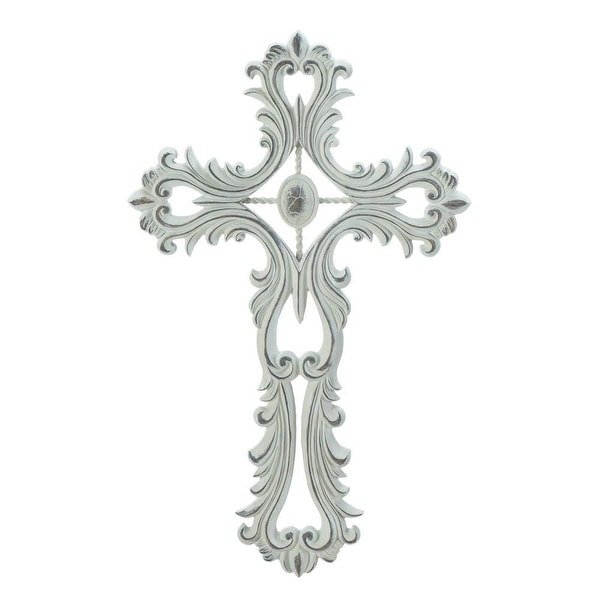 Top Sale Scalloped White Cross