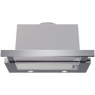 Bosch HUI54451UC 400 CFM 24 Inch Wide Pull Out Range Hood with Aluminium Mesh Filters