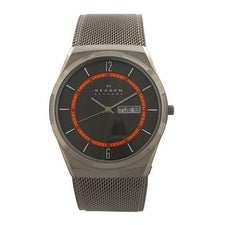 Skagen Skw6007 Titanium Mesh Bracelet Watch Watch For Men