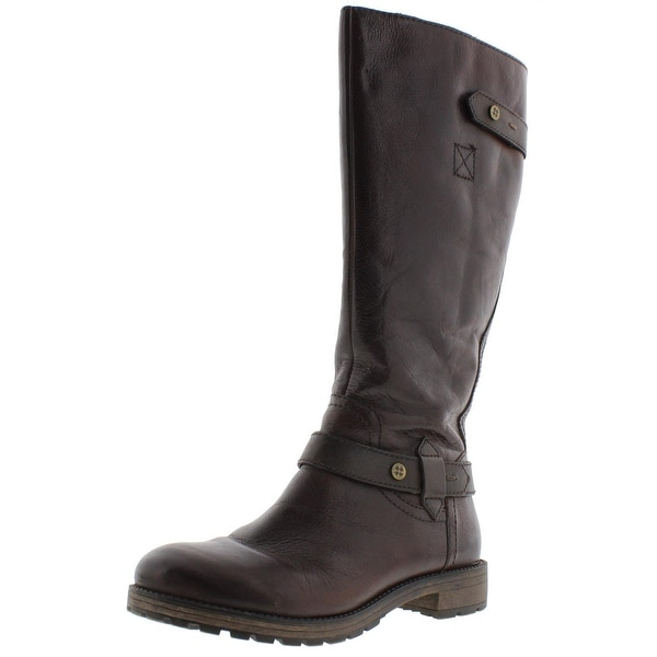 Naturalizer Womens Tanita Riding Boots Faux Fur Lined Knee High