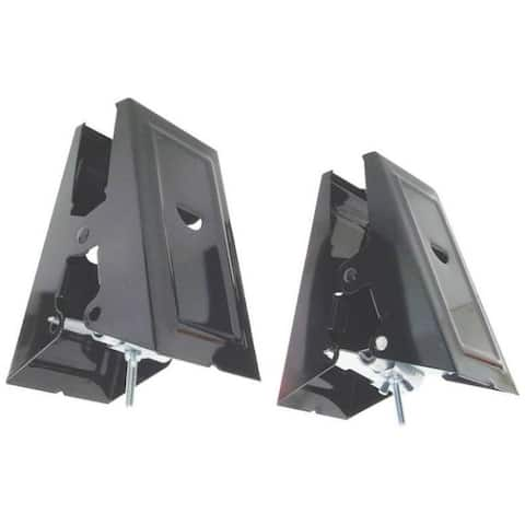 Fulton 100SHB Heavy Duty Sawhorse Brackets, Black