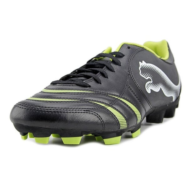 Puma PowerCat 4.10 FG Men Black-White-Wild Lime Cleats