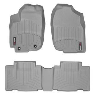 WeatherTech Toyota RAV4 2013+ Grey Front & Rear Floor Mats FloorLiner 46510 1 2