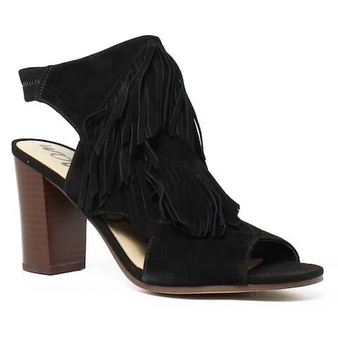 539738b6f Sam Edelman Womens Elaine Black Open Toe Heels Size 7