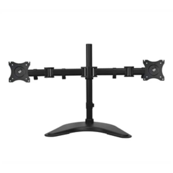 SIIG AC CE-MT1U12-S1 Articulated Freestanding Dual Monitor Desk Stand 13 to 27 Retail