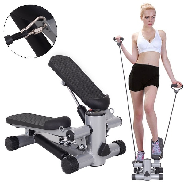Costway Aerobic Fitness Step Air Stair Climber Stepper Exercise Machine New Equipment
