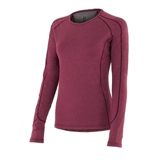 Noble Outfitters Shirt Womens Hailey Long Sleeve Crew Opti Dry 21506