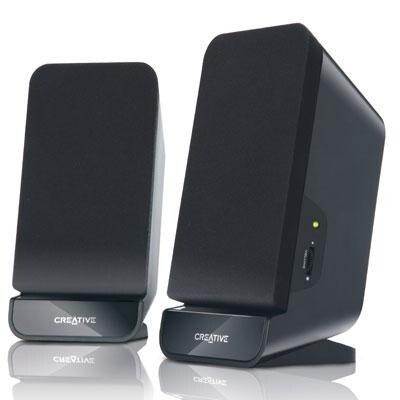 Creative Labs 51Mf1635aa003 Black A60 2.0 4W Cli-R U-X Speaker