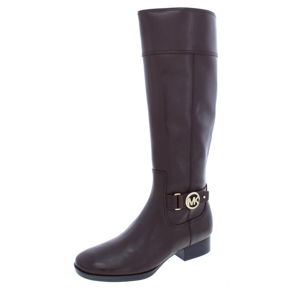 1a5e3a183 Shop MICHAEL Michael Kors Womens Harland Riding Boots Leather Knee ...