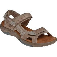 Rockport Women's Cobb Hill Fiona Taupe Full Grain Leather