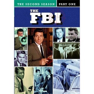 Fbi, The: The Second Season Part One1 (4 Disc Set) DVD Movie 1966-67