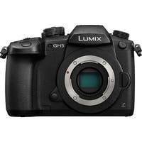 Panasonic Lumix DC-GH5 Mirrorless Micro Four Thirds Digital Camera (Body Only) (Intl Model)