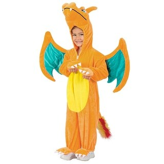 Pokemon Charizard Jumpsuit Toddler Costume 18-24 Months - Orange